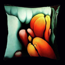 Pollination Pillow by Anni Adkins