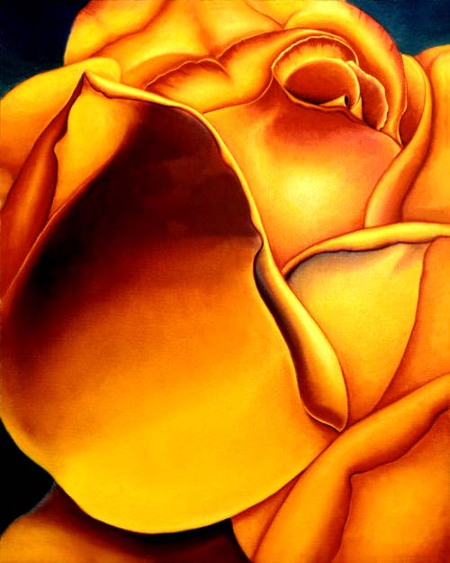 Yellow Rose by Anni Adkins