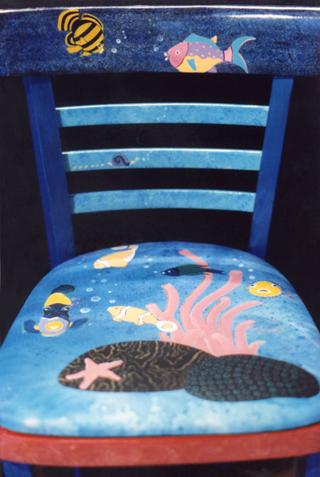 Fish Chair by Anni Adkins