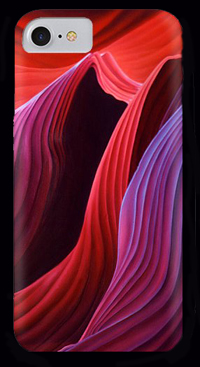 Antelope Waves by Anni Adkins Phone Case