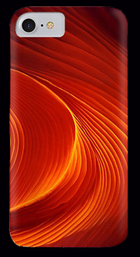The Swirl by Anni Adkins Cell Phone Cover